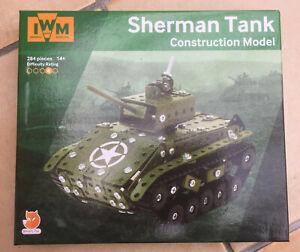 Imperial War Museum Sherman Tank construction set