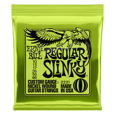 Ernie Ball Regular Slinky Nickel Wound Electric Guitar Strings .010-.046