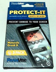 Protect-It Smartphone Écran Defense Prévenir Dommage MOTOROLA DROID X 3 Paquet