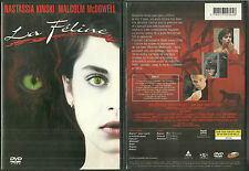 DVD - LA FELINE avec NASTASSIA KINSKI, MALCOLM McDOWELL