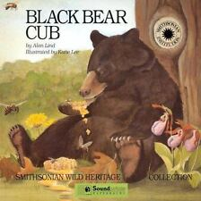 Black Bear Cub by Alan Lind c1994, VGC Hardcover, We Combine Shipping