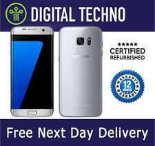 Unlocked Samsung Galaxy S7 Edge Silver 32GB - SIM Free Android Phone + Warranty