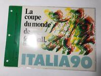 1990 Francia Folder Palmares Italia '90 Annulli Stadi Meazza Comunale Olimpico