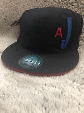 Air Jordan Jumpman Fitted Hat Size 7 1/8 Black 23 Repeat Logo Cap