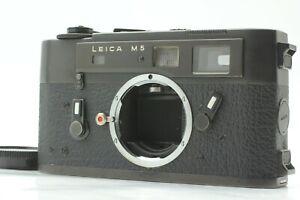*CLA'd MINT Voltage Adjusted* LEICA M5 Black Rangefinder 35mm Film Camera JAPAN