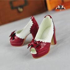 1/3 BJD Shoes Supper Dollfie MID EID DOD SOOM AOD shoes SD High heeled sandals
