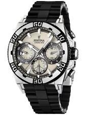 Men's Festina Chrono Bike F16659/1Black Strap Analog Chronograph Wrist Watch