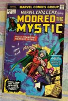 "1975 Marvel Chillers #1 Marvel Comics ""MODRED THE MYSTIC"""