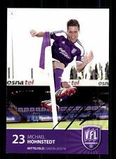 Michael Hohnstedt Autogrammkarte VFL Osnabrück 2013-14 Original Signier+A 138859