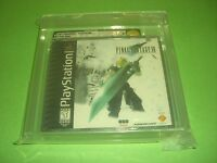Final Fantasy VII 7 Misprint Black Label NEW & Factory Sealed VGA 85+ for PS1!