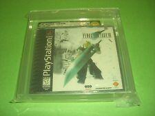 Final Fantasy VII 7 Misprint Black Label NEW & Factory Sealed VGA 85+ for PS1!