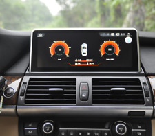 "Car GPS Navigation 10.25"" Android 4.4 BT For BMW X5 E70 07-13/X6 E71 2007-2014"