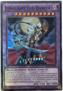 Yugioh - Lunalight Leo Dancer - Super Rare - SHVI-EN048 - 1st Ed - NM