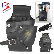 Blue Hairdressing Scissors Tool Holder Holster Shears Pouch/Bag Adjustable Strap
