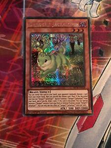 Yu-Gi-Oh Prismatic Secret Rare Danger!? Jackalope? Mixed Editions MP19-EN139