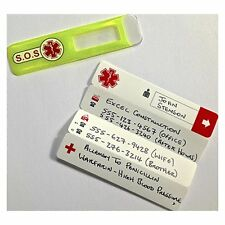 Portwest ID11 Universal Emergency ID Yellow First Aid Helmet Tag