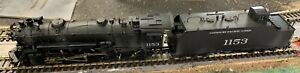 Missouri Pacific P73 4-6-2 Heavy Pacific #1153 Painted & Weathered Brass HO PFM
