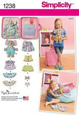 Simplicity SEWING PATTERN 1238 Toy Elephant With Clothes & Carrying CaseSimplici
