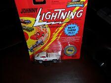 1995 Johnny Lightning Commemorative Edition WHITE XKE JAGUAR Realriders 1/3500