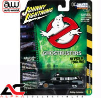 JOHNNY LIGHTNING JLSS005 1:64 1959 CADILLAC GHOSTBUSTERS PROJECT PRE ECTO BLACK