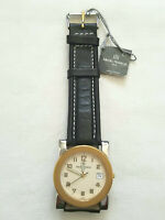 Michel Herbelin Gold Plated FRENCHMADE Unisex Watch Swiss Movement