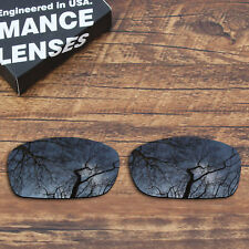 T.A.N Polycarbonate Replacement Lenses for-Oakley Fives Squared (4+1)² - Black