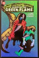 Green Lantern/Superman: Rare Legend of the Green Flame TPB (2000) NM 9.6 Gaiman