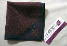 Hankie Pocket Square Handkerchief Hanky MENS Jasper Conran Burgundy