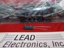 Qty200 Nichicon 33uf 50 Volt Radial 105 Deg Capacitor Uvz1h3r3mdd
