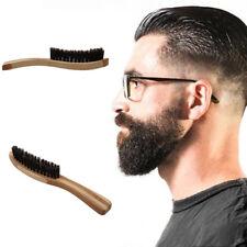 Long Beard Comb Shaving Brush Barber Shaving Device Handheld Round For Men