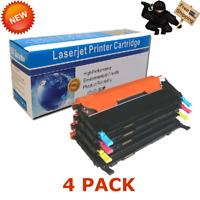 4 PACK CLT-K406S CMYK Color Toner For Samsung CLP-365W CLX-3305FW C410W C460FW