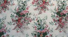 Croscill Curtain Pink Rose Floral Pattern Rn 21857 Made in Usa Cotton Blend