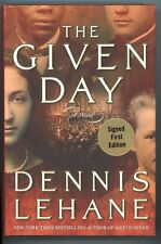The Given Day by Dennis Lehane SIGNED 1st Ltd- High Grade