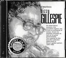 Dizzy Gillespie - Timeless / Savoy Jazz 20Bit Digital / CD / NEU+OVP-SEALED!