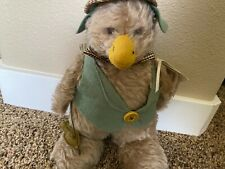 """Handmade Bunnies by the Bay Mohair Duck """"Emerson Fisher"""" 32 of 500"""
