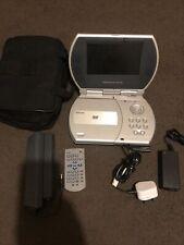 venturer portable DVD player With Battery, Carry Bag Bundle