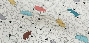 "60"" inch width Rhinoceros Cotton Print Fabric - per metre"