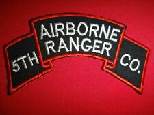 Korea War (1950-53) Us Army 5th Airborne Ranger Infantry Company Scroll Patch