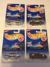 1996 HOT WHEELS SPY PRINT SERIES SET OF 4 Cars