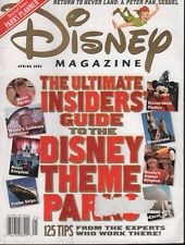 Disney Magazine Spring 2002 Mickey Mouse Peter Pan Disneyland 111518AME2