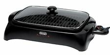 Delonghi Electric Indoor Grill BG24, Black/Glass, Kitchen, New, Free Shipping