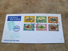 1980 Cayman Islands First Day Cover / FDC - London 1980 Stamp Expo