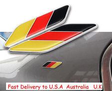 German 3D Car Truck Decal Metal Emblem Badge Fender Door Skirt Sticker Germany