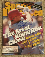 MARK MCGWIRE Signed 8/3/98 1998 Baseball Sports Illustrated JSA WP22677 Cardinal
