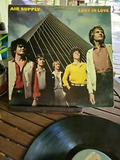 1980 Air Supply Lost In Love LP AL 9530.  Cover and Vinyl Grade G