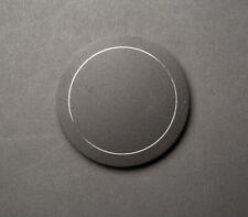 49mm Metal Screw-In Front Lens Cap Black VG!