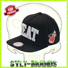 Miami Heat NBA Mitchell & Ness Snapback Cap Baseballcap Basecap Kappe