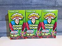 Warheads Extreme Sour Freezer Pops Bars (LOT OF 3 boxes)