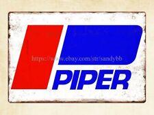 Piper Pilot Aircraft Aircraft General Aviation metal tin sign sympathy plaques