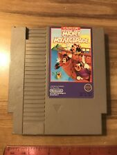 Nintendo Ent. System/ NES Mickey Mousecapade Video Game Cartridge, Circa 1990